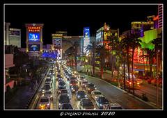 Las Vegas strip at night (Roland Bogush) Tags: lasvegas sonyrx100mk7
