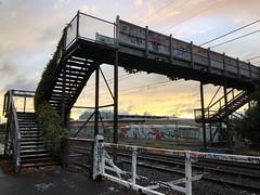 10/366 pedestrian rail bridge (retrokatz) Tags: bridge cf20 366the2020edition 3662020 day10366 10jan2020