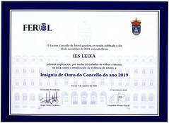 Insignia_2019 (Centro PluriFP IES Leixa) Tags: ies leixa insignia premios