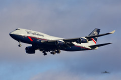 G-BNLY Boeing B747-400 British Airways Landor c/s (xkekeith) Tags: egll lhr landor ba retro