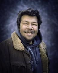 Freddie (mckenziemedia) Tags: man portrait portraiture face smile chicago city street urban streetphotography homeless homelessness coat people humanity