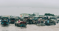 Cai Rang Floating Market in Can Tho, Vietnam (phuong.sg@gmail.com) Tags: air activity asian amazing asia atmosphere boat business busy color canal colorful chanel crowd crowded day farmers delta flea flood floating float group gray landscape landscaping indochina market mekong lively poverty people person open poor river scene row rowing summer spring sunny travel vietnam trade water women vietnamese wooden