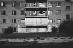 so.close.to.landing (jonathancastellino) Tags: leica shadow toronto building abandoned face facade project ruins decay ruin housing q derelict boarding complex broken window