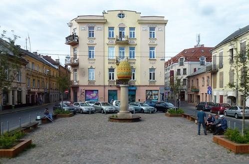 Sculpture Easter Egg Vilnius