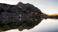 Val Parola (104gian) Tags: dolomiti dolomiten reflexes riflessi lake lago cortina landscape paesaggio autumn autunno