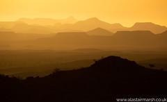Mowani Sunset (Alastair Marsh Photography) Tags: landscape landscapephotography africa namibia nature naturereserve mowani mowanimountaincamp damaraland namib namibdesert desert silhouette mountain mountains sunlight sun sunset sunshine hills hill