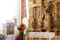"""Inauguración de la restauración del retablo de Quintanilla de Riofresno • <a style=""""font-size:0.8em;"""" href=""""http://www.flickr.com/photos/141347218@N03/49361336672/"""" target=""""_blank"""">View on Flickr</a>"""