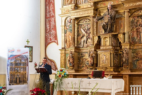 """Inauguración de la restauración del retablo de Quintanilla de Riofresno • <a style=""""font-size:0.8em;"""" href=""""http://www.flickr.com/photos/141347218@N03/49361336777/"""" target=""""_blank"""">View on Flickr</a>"""