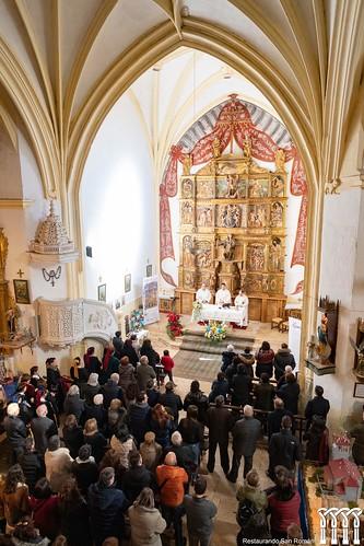 """Inauguración de la restauración del retablo de Quintanilla de Riofresno • <a style=""""font-size:0.8em;"""" href=""""http://www.flickr.com/photos/141347218@N03/49361336952/"""" target=""""_blank"""">View on Flickr</a>"""
