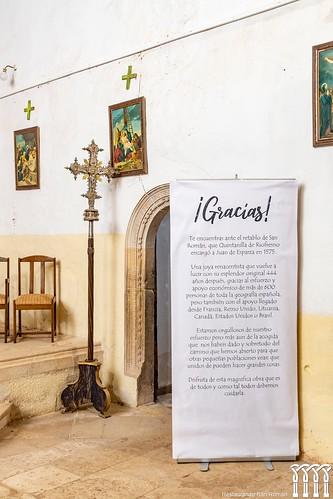 """Inauguración de la restauración del retablo de Quintanilla de Riofresno • <a style=""""font-size:0.8em;"""" href=""""http://www.flickr.com/photos/141347218@N03/49361337292/"""" target=""""_blank"""">View on Flickr</a>"""