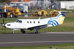 PH-CYP_02 (GH@BHD) Tags: phcyp pilatus pc12 pcxii pilatuspc1247e smtshipping belfastcityairport bhd egac bizprop corporate executive aircraft aviation