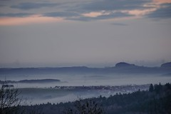 Inversion II (Fay2603) Tags: fujixh1 landscape badenwürttemberg pastell wetter weitsicht bäume trees wolken