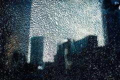 Shattered City (ewitsoe) Tags: moments nikon street warszawa winter erikwitsoe urban warsaw glass broke shattered glasswall cityscape obscure station bokeh light city
