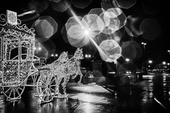 Carriage on the Eve — Карета накануне (Valery Parshin) Tags: ngc canoneos70d canonefs24mmf28stm longexposure monochrome blackandwhite night saintpetersburg russia stpetersburg