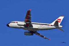 G-EUPJ Airbus 319 British Airways BEA retro scheme (xkekeith) Tags: egll lhr bea ba