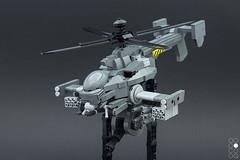 JB-03av (Cole Blaq) Tags: blaq cole coleblaq ghostintheshell jigabachi lego legophoto anime helicopter legography manga model