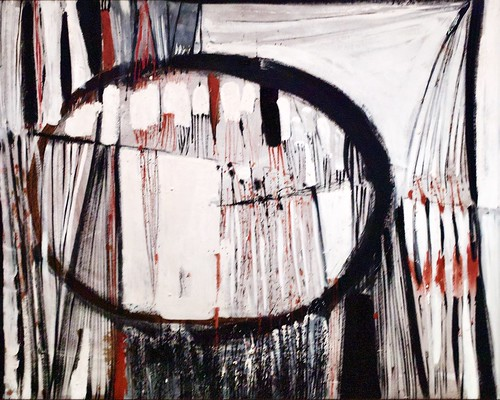 "Red, Black and White ""O"" (1957) - Terry Frost (1915-2003)"