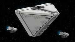 Imperial Cargo Ship (ky-eeeee) Tags: lego ldd starwars digital render rebels imperial empire ship fleet
