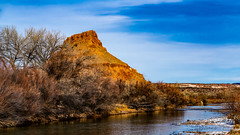 Along the Chama River in January (LDMcCleary) Tags: