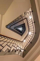 Staircase No. 41 (Sascha Gebhardt Photography) Tags: nikon nikkor d850 1424mm lightroom staircase stairs steps travel tour treppenhaus treppe photoshop fototour fx