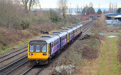 Final Journey. (curly42) Tags: 142050 142039 142057 class142 northern railway dmu unit pacers