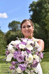Blossoms and beauty (lauren3838 photography) Tags: flowers beauty bouquet laurensphotography lauren3838photography wedding orchid colors bride md nikon colorful blossom marriage maryland d750 bridal weddingphotographer marylandphotographer cecilcounty dof