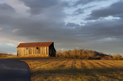 D72_4435 (Joel Rollins Photography) Tags: nikond7200 color peaceful relax relaxation serene solitude building clouds farm green natural nature outdoors pasture plants ruralrustic sun sunset trees winter