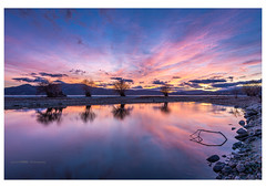 Sunset (Ignacio Ferre) Tags: embalsedesantillana santillanareservoir manzanareselreal madrid españa spain naturaleza nature landscape paisaje sunset puestadesol anochecer nikon azul blue
