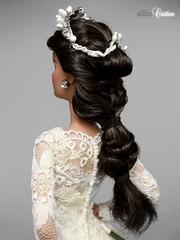Cristina, a Real Bride (davidbocci.es/refugiorosa) Tags: barbie mattel fashion doll muñeca refugio rosa david bocci ooak novia bride wedding