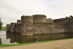 Beaumaris Castle (Larry Myhre) Tags: beaumaris wales uk castle historic moat anglesey
