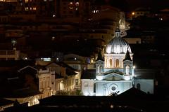 Quito Cathedral At Night (szeke) Tags: quito ecuador