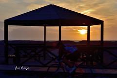 PS PUESTA SOL SANCTI  PETRI  003 (Jose Arroyo (Jasena)) Tags: jasena josearroyo ciclista ciclismo deporte sunset puestadesol ocaso mirador chiclana miradormegara
