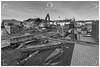 Haddington, East Lothian / Scotland (UK) - January 10, 2020: East Lothian Community Hospital, Haddington. Last days of the old Roodlands and the beginning of a new era.