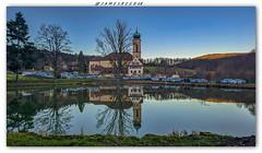 Etang et Basilique de Thierenbach - Haut Rhin (jamesreed68) Tags: basilique thierenbach alsace hautrhin paysage nature eau etang water église church grandest xiaomi france florival arbre mi9