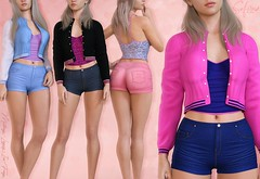New release + GIVEAWAY!! (closed) (Safira | NiahRen) Tags: equal10 jean short jacket top