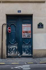 Rue des Blancs Manteaux, Paris (Ivan van Nek) Tags: paris france frankreich frankrijk 75 ruedesblancsmanteaux nikon porte tür doorsandwindows deur portesetfenêtres ramenendeuren d7200