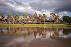 Angkor Wat (Tofubratwurst) Tags: angkorwat kambodscha angkor siemreap khmer អង្គរវត្ត cambodia tempel asien asia spiegel reflection sonyalpha7rm2 sonyilce7rm2 fe1635mmf4zaoss sonyfe1635mmf4zaoss clouds wolken tofubratwurst