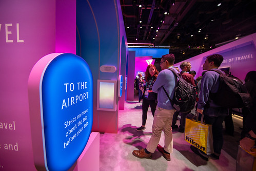 Delta CES 2020 Exhibit Booth by DeltaNewsHub, on Flickr