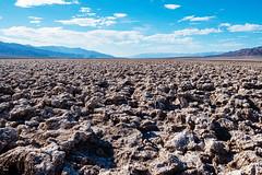 Devil's Golf Course, Death Valley (Deepmike70) Tags: nature landscape desert salt rocks mountains sky clouds