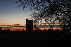 10/366 Close to Home [Week 2 Theme] (belincs) Tags: 366 oneaday january silhouettes kymetower sunset lincolnshire 2020 landscape uk outdoors 366the2020edition 3662020 day10366 10jan2020 100xthe2020edition 100x2020 image3100