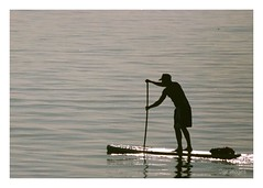 Paddle Dude (GR167) Tags: film expired sup analog emulsion