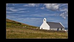 The Little Church On The Hill (mini-b) Tags: wales cardiganbay mwnt church scenery reedited aurorahdr2018 hdr takenin2010 luminar2018 skylum canon eos5dmkii ef24105mm14lisusm reeditedin2020