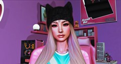 Gamer Girl Portrait (Serena Moon (Taking Clients!)) Tags: backbone foxy gamer girl kitty pink photographer photoshop photoshoot make up asian second life secondlife slgirl streamer gameover dva blogger