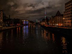Spree (Renate R) Tags: night spree river berlin fluss nacht bestcapturesaoi