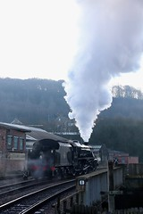 Keighley & Worth Valley Railway (catseye1812) Tags: 45212 black5 stainerclass5 steam kwvr keighleyworthvalleyrailway mincepiespecial