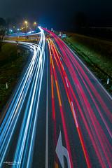 Freitagabendverkehr in der Wachau (AnBind) Tags: lichtspuren auto meinegegend wachau österreich orte autoscheinwerfer blauestunde 2020 lighttrails motive mautern