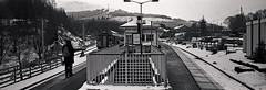 Crianlarich. (christopherhogg1) Tags: chrishoggsphotos scotrail dmu crianlarichstation scotland railways class156 buildings winter stirling