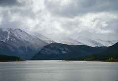 Another Look At Goat Pond (Bernie Emmons) Tags: goatpond kananaskis mountains lake pond clouds alberta storm snow