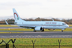 CN-ROK 2 Boeing 737-8B6W RAM Royal Air Maroc MAN 10JAN20 (Ken Fielding) Tags: cnrok boeing b7378b6w ram royalairmaroc aircraft airplane airliner jet jetliner aviation