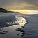 Winternachmittag am Strand zwischen Wenningstedt und Kampen